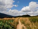 W sierpniu pojechaliśmy do Wetliny, gdzie po raz kolejny przemierzyliśmy wiele górskich  szczytów.